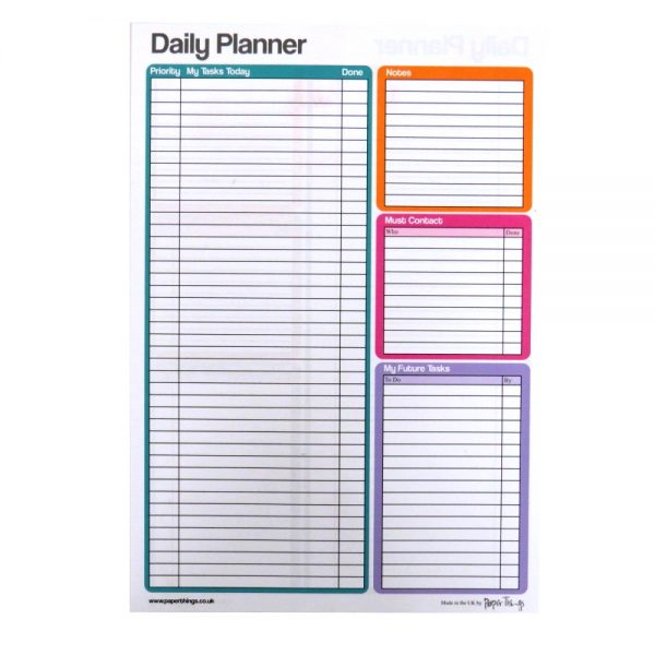 A4 Large Daily Planner