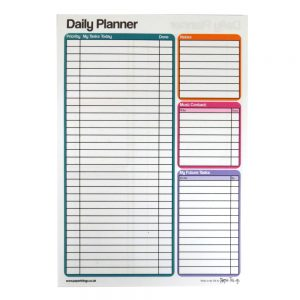 A5 Daily Planner Paper Things