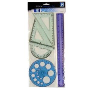 5 Piece Geometry Set