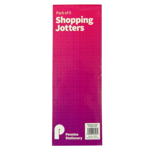 Slim Shopping or To Do List Notepads