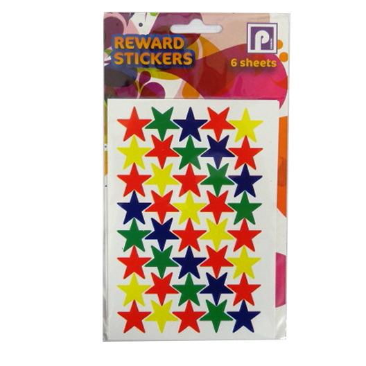 Children's Reward Stickers - Stars