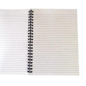 A4 Wirebound Notebook - Spring Garden Design