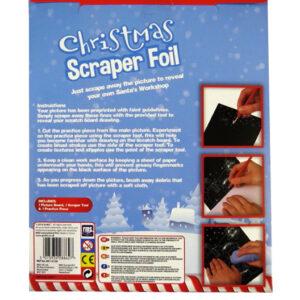 Christmas Scraper Foil Pack - Santas Workshop