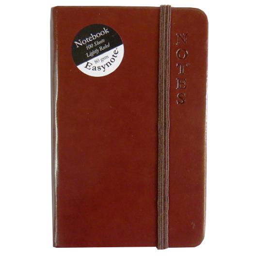 Slim Soft Touch, Pocket Notebook - Rustic Range - Brown