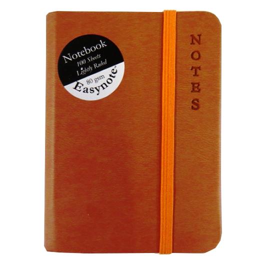 Pocket Notebook, Soft Touch - Rustic Range - Burnt Orange