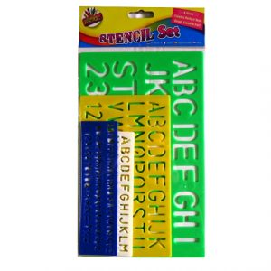 Lettering Stencil Pack - 4 Piece