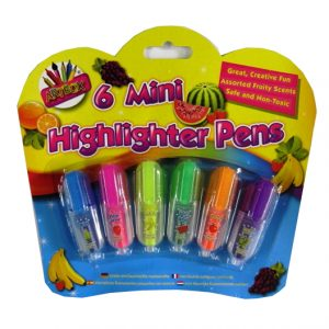 Mini Highlighter Scented Fruit Pens