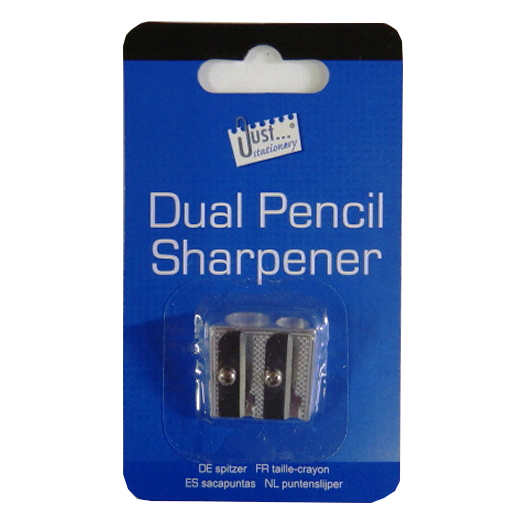 Metal Dual Pencil Sharpener