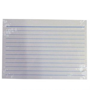 Study, Revision, Index Cards - Pack of 50