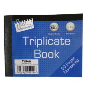 Mini Triplicate Book