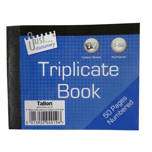 Mini Triplicate Book