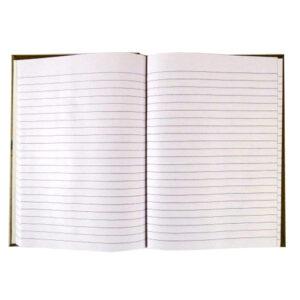 A5 Hard Cover Notebook, Natural Craft Range - Chevron