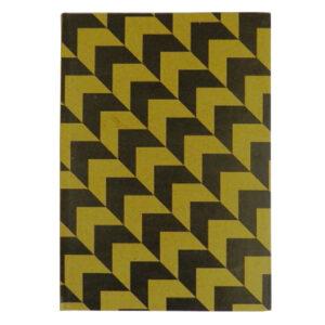 A4 Hard Cover Notebook, Natural Craft Range - Chevron