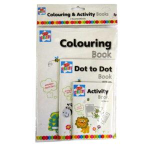 Childrens Creative Activity Books