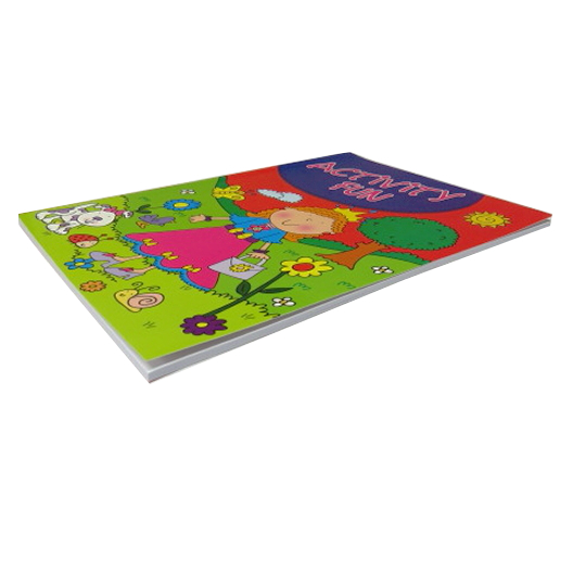 Girls Creative A4 Activity Book - 60 Pages