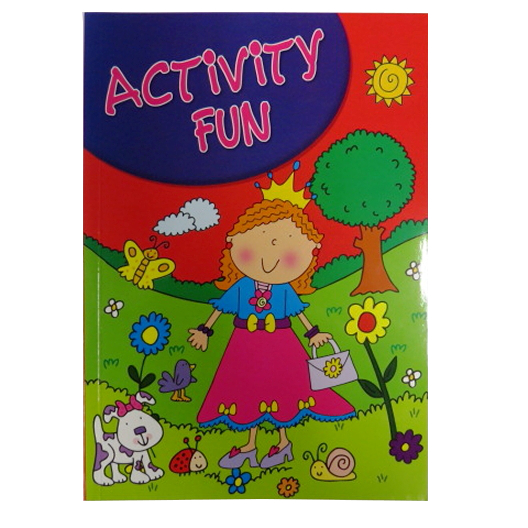 Girls Creative A4 Activity Book
