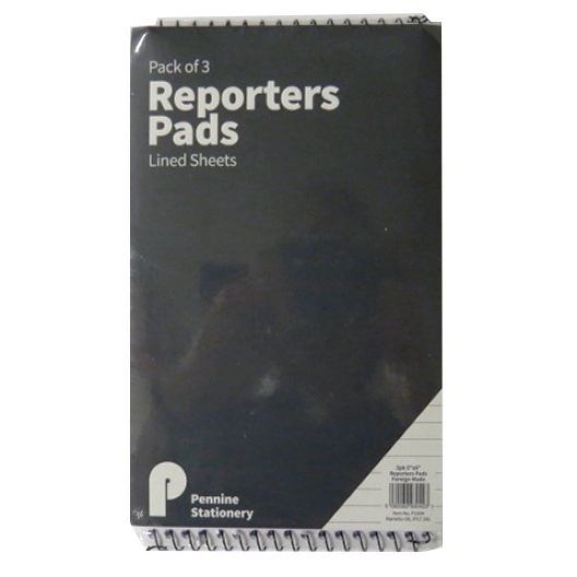 Reporters Notebook Pack of 3