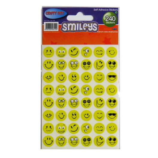 Smileys Self Adhesive Stickers