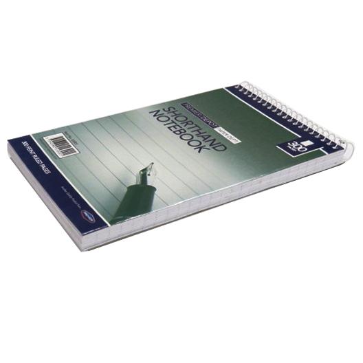 Shorthand Wirebound Notebook, 300 Pages