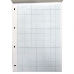 A4 Graph Paper Notepad - 10/20mm Graph Square Ruled