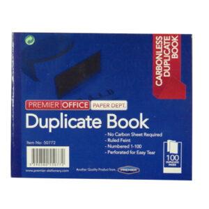 Mini Carbonless Duplicate Book