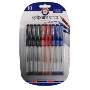 Proscribe Gel Point Script Pens