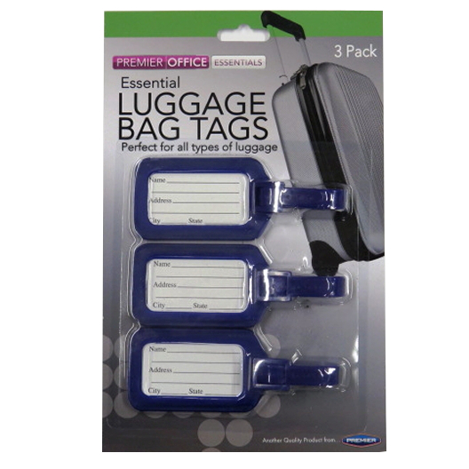Essential Luggage Bag Tags
