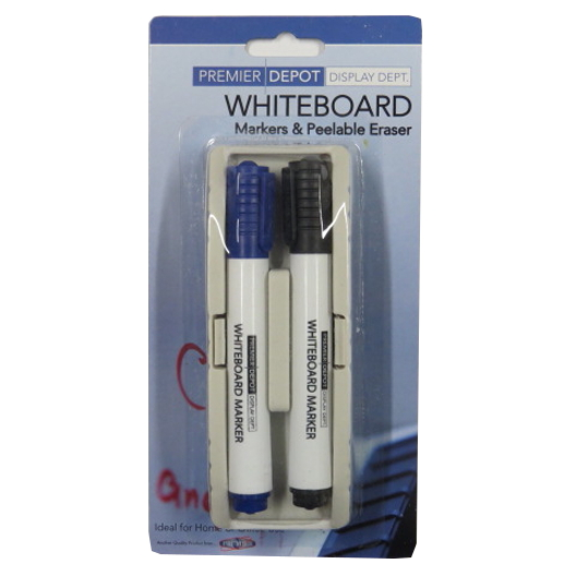 Dry Erase Whiteboard Markers and Peelable Eraser