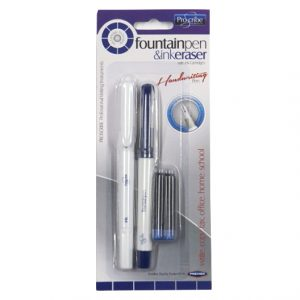 Proscribe Fountain Pen and Ink Eraser Pen