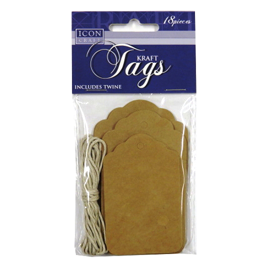 Decorative Craft Tags and Twine