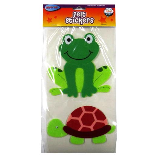 Animals Large 3D Felt Stickers
