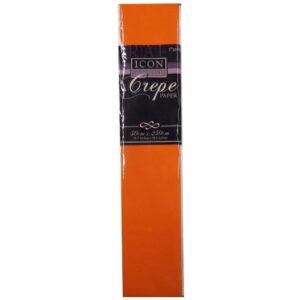 Icon Craft, Large Crepe Paper - Orange