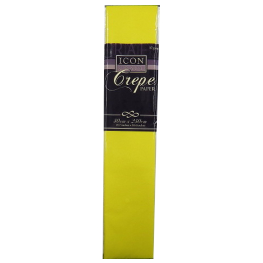 Crepe Paper - Daffodil Yellow