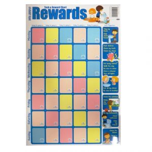 Childrens Large Wall Poster - Task Planner and Reward Chart