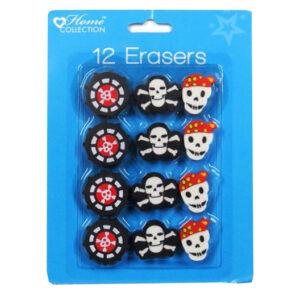 Pirate Erasers