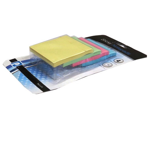 Fluorescent Self Stick Notes - Mixed Colours
