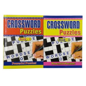 A4 Crosswords Puzzle Books