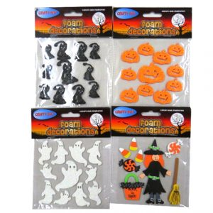 Halloween Foam Decoration Stickers