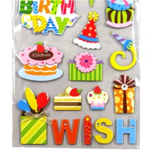 Paper Charms - Birthday
