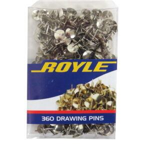 Drawing Pins, Silver