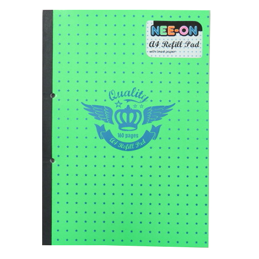 A4 Nee-On Refill Notepad - 160 Pages