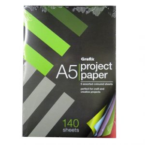 A5 Project Paper 140 Sheets