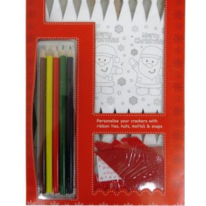 Make and Colour your Own Christmas Crackers