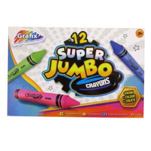 Super Jumbo Colouring Crayons