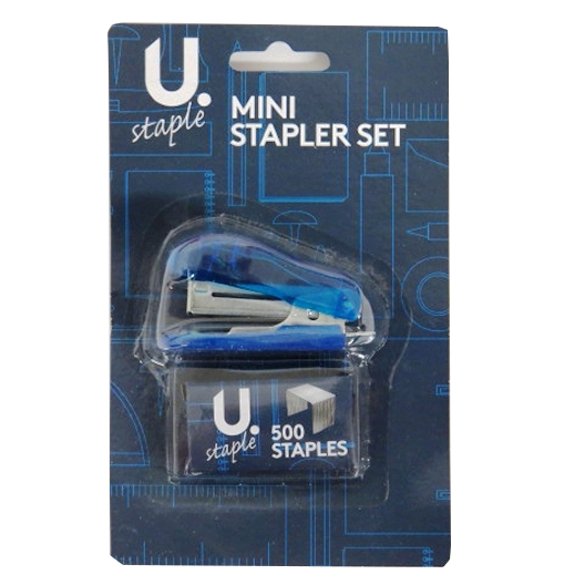 Mini Hand Stapler Set