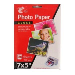 Photo Paper 7 X 5 Gloss