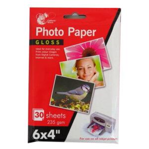 Photo Paper 6 X 4 Gloss