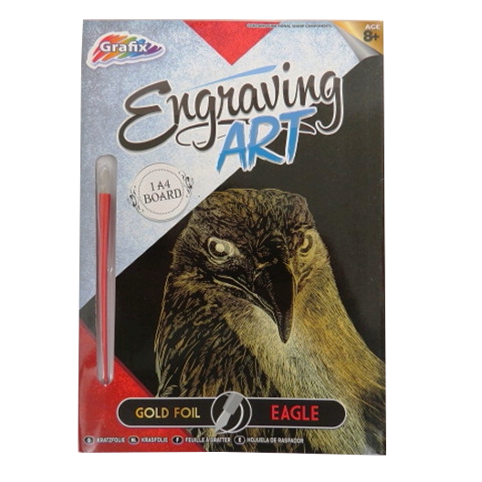 Engraving Animals Art Foil Pack – Eagle
