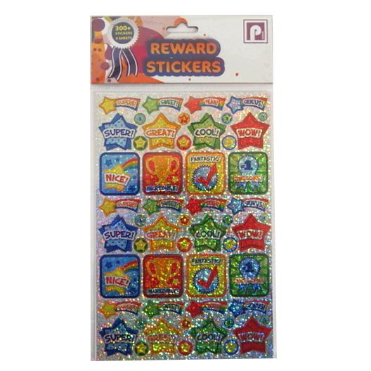 Children's Reward Stickers - Encouraging Messages