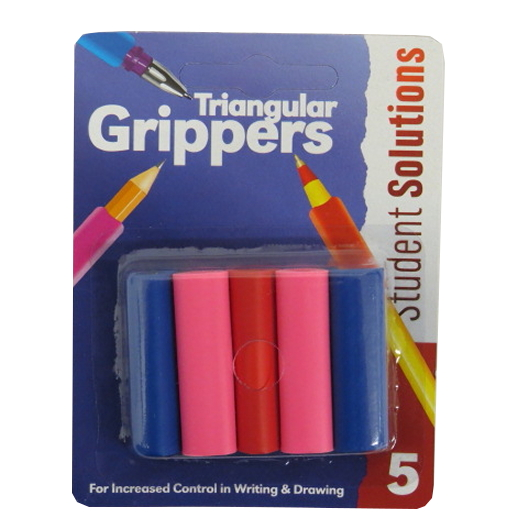 Triangular Pen and Pencil Grippers